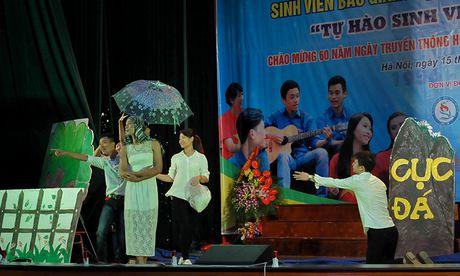 An tuong dem nghe thuat sinh vien Bac Giang tai Ha Noi - Anh 7