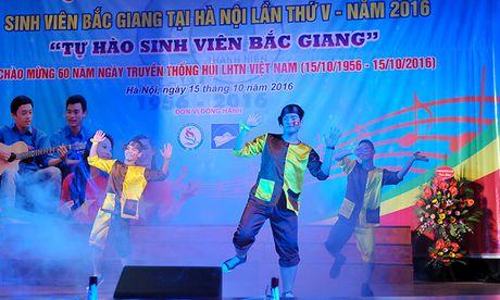 An tuong dem nghe thuat sinh vien Bac Giang tai Ha Noi - Anh 8