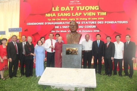 Dung tuong vien si Duong Quang Trung - nha sang lap Vien Tim - Anh 1