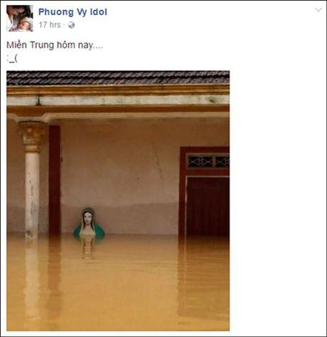 Phuong Thanh, Tuan Hung, Pham Huong... cam thuong, keu goi giup do dong bao mien Trung - Anh 2