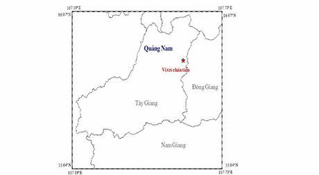 Quang Nam: Dong dat 3,4 do richter o huyen Tay Giang - Anh 1
