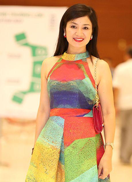 Dien vien Thu Ha, Thuy Tien vay ao thanh lich o su kien - Anh 1