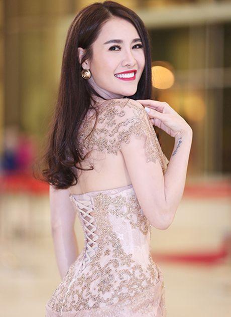 Dien vien Thu Ha, Thuy Tien vay ao thanh lich o su kien - Anh 5