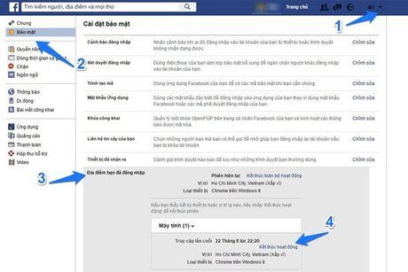 Meo kiem tra tai khoan Facebook cua minh co bi hack hay khong? - Anh 2