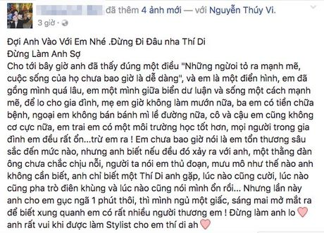 'Quan ly' cua Thuy Vi lan dau tien len tieng ve thong tin co nang tu tu - Anh 1