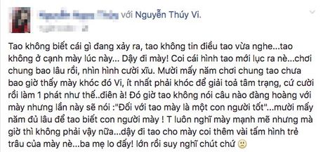 'Quan ly' cua Thuy Vi lan dau tien len tieng ve thong tin co nang tu tu - Anh 2