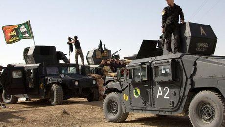 Quan doi Iraq bat dau giai phong thanh pho lon thu hai khoi tay IS - Anh 1