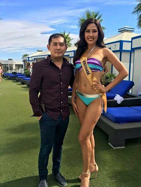 Nguyen Thi Loan khoe dang nong bong voi bikini tai Hoa hau Hoa binh 2016 - Anh 3