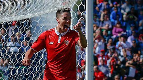 Nasri ghi ban giup Sevilla len ngoi dau bang - Anh 1