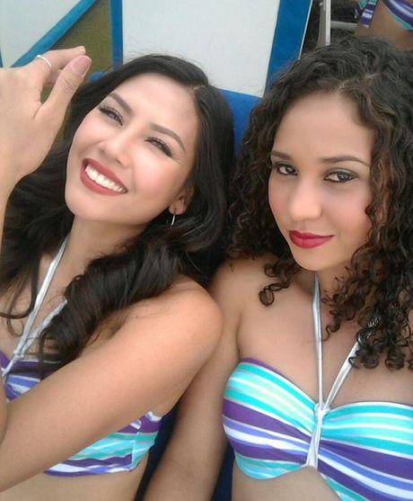 Nguyen Loan dien bikini nong bong tai Miss Grand Internation - Anh 2