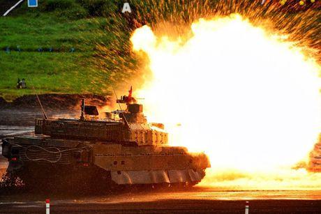 Xe tang Type-10 cua Nhat, hien dai nhung kho xuat khau - Anh 1