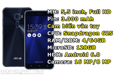 Asus ZenFone 3 giam gia 1 trieu dong - Anh 1