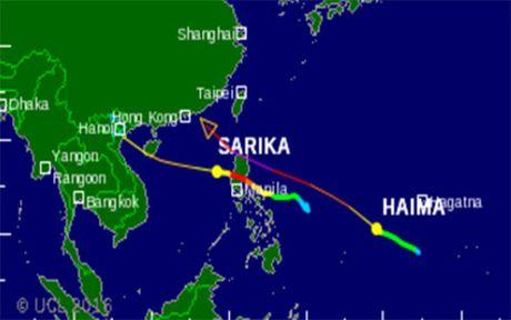 Bao Sarika se do bo vao Viet Nam - Anh 2
