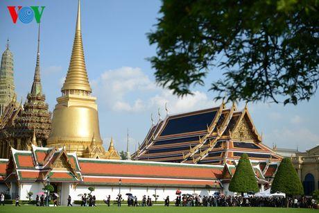 Nguoi dan Thai Lan xep hang dai ca cay so de vieng Vua - Anh 11