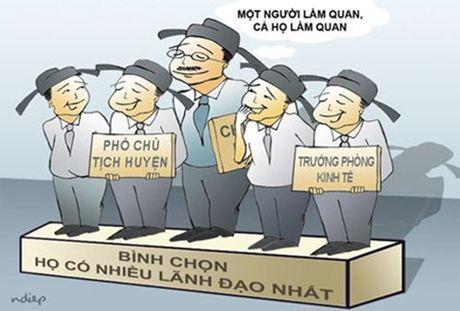 Chan chinh cong tac can bo, khong nhan rong 'mo hinh' chon nguoi nha - Anh 2