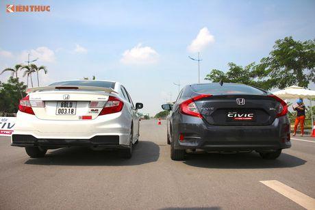Cam lai Honda Civic 2017 i-VTEC Turbo 1.5l tai Ha Noi - Anh 11