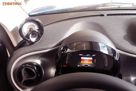 'Xe hop' Smart fortwo 2016 tien ty dau tien tai VN - Anh 10