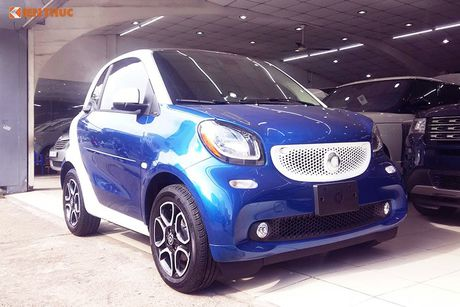 'Xe hop' Smart fortwo 2016 tien ty dau tien tai VN - Anh 15