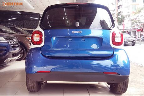 'Xe hop' Smart fortwo 2016 tien ty dau tien tai VN - Anh 4
