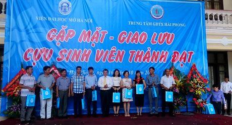 Vien Dai hoc Mo Ha Noi giao luu cuu sinh vien thanh dat tai Hai Phong - Anh 1