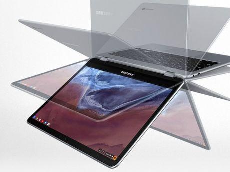 Samsung Chromebook Pro: laptop lai may tinh bang gia 499USD - Anh 1