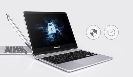 Samsung Chromebook Pro: laptop lai may tinh bang gia 499USD - Anh 2