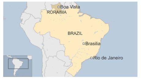 Brazil: Bao loan, chat dau trong nha tu, 25 nguoi chet - Anh 1