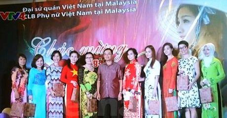 Malaysia to chuc nhieu hoat dong ky niem ngay Phu nu Viet Nam - Anh 1