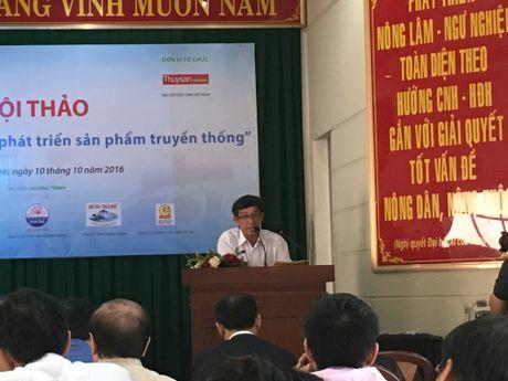 Chu tich HDQT Thuy san 584 Nha Trang: 'Nuoc mam cong nghiep khong the thay the nuoc mam truyen thong' - Anh 1