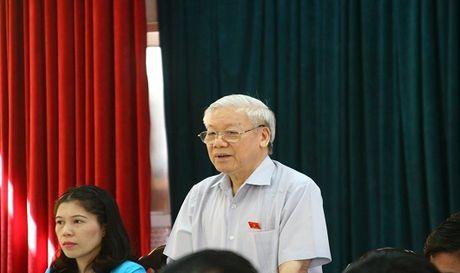 Tong Bi thu: 'Phai nghi den cai chung, noi khong lam se mat uy tin' - Anh 1