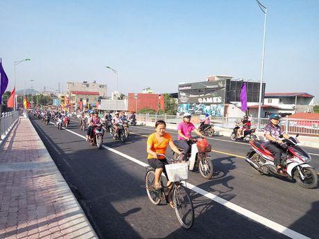 Hai Phong: cau Niem duoc thong xe tro lai - Anh 3