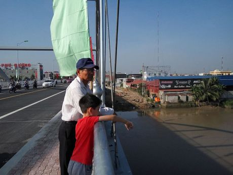 Hai Phong: cau Niem duoc thong xe tro lai - Anh 5