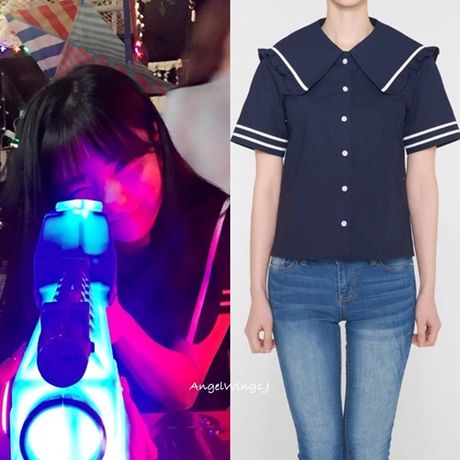 Idol Han dua nhau mac san pham Jessica thiet ke - Anh 5