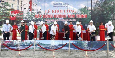 Ha Noi: Khoi cong xay dung duong 'nghin ty' ket noi cua ngo phia Nam - Anh 1