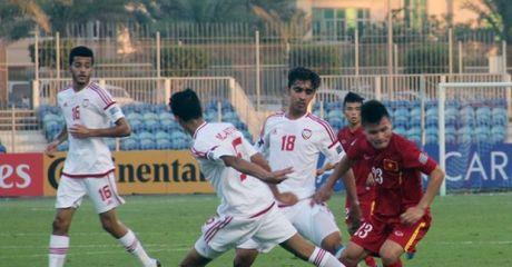 Highlight: U19 Viet Nam 1-1 U19 UAE (Bang B U19 chau A 2016) - Anh 1