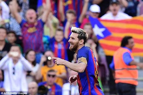 Messi tai xuat, Barca de bep Deportivo - Anh 1