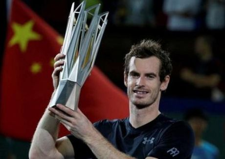 Murray de dang thang Bautista-Agut, vo dich Thuong Hai Masters - Anh 1
