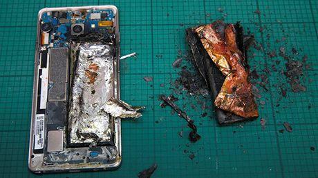Samsung 'test' pin Galaxy Note 7 trong phong thi nghiem noi bo - Anh 1