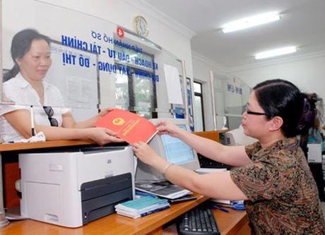 Huong dan ho so khai le phi truoc ba doi voi tai san la nha, dat - Anh 1