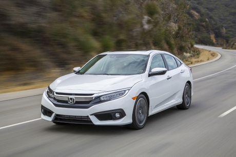 Honda thu hoi 350.000 chiec Civic 2016 tai My - Anh 1