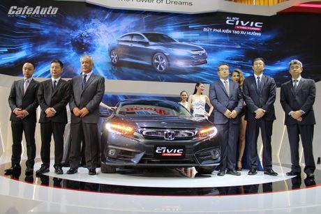 Honda thu hoi 350.000 chiec Civic 2016 tai My - Anh 2