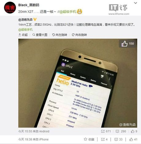 Mediatek phat trien chip Helio X27 ngang ngua Snapdragon 821 - Anh 2