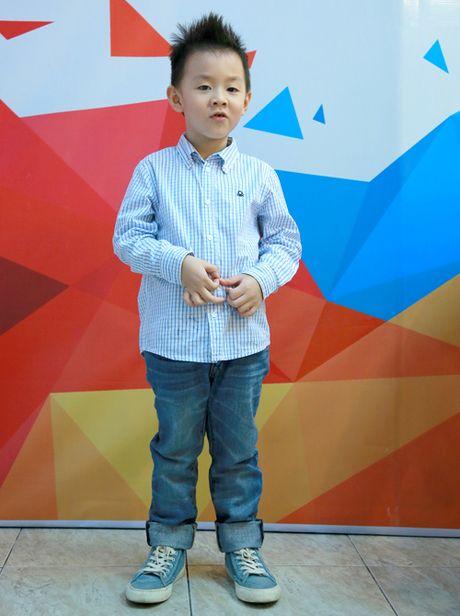 Con trai Le Phuong di xem me thi gameshow - Anh 1