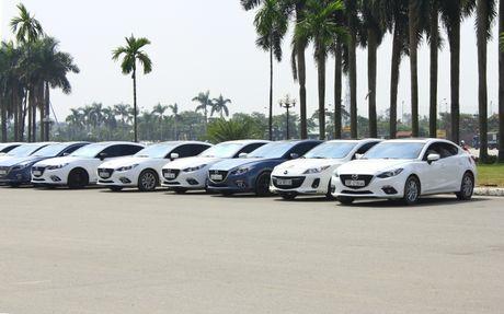 Choang ngop dan Mazda 3 hoi ngo tai Ha Noi - Anh 12
