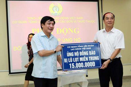 Tong LDLDVN ra loi keu goi ung ho nhan dan cac tinh mien Trung - Anh 3