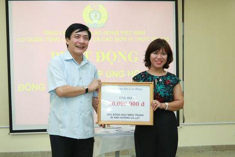 Tong LDLDVN ra loi keu goi ung ho nhan dan cac tinh mien Trung - Anh 4