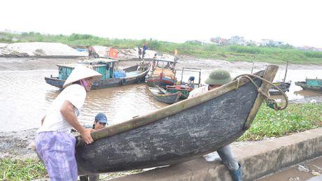 Nam Dinh cam bien truoc bao Sarika - Anh 1