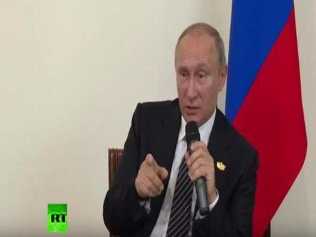 Putin: Nga khong can thiep bau cu tong thong My - Anh 1