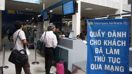Vietnam Airlines mo check-in truc tuyen tai san bay Nhat - Anh 1