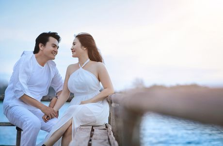 Anh cuoi lang man cua dien vien Cao Minh Dat - Anh 2